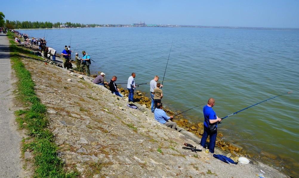 Места рыбалки в таганроге