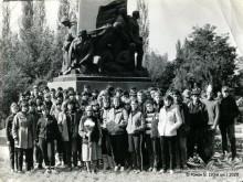 Большие Салы. Поездка на Артиллерийский Курган (20-я шк., 1985 год)