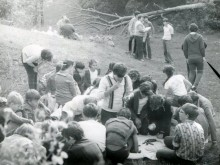 """08.09.1983, поход в """"Ботанику"""""""