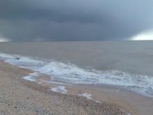 Вот Азовское море вчера на Должанской косе