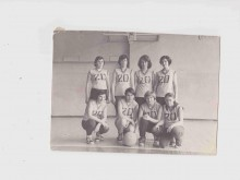 Баскетбольная команда 20 школы. Учитель физ-ры Одинцова