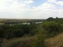 Вид на дельту от Ливенцовской крепости