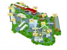 Схема расположения больничных корпусов ОКБ-2 Ростова.