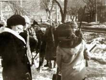 Школьный субботник 5.4.1987