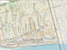 Наложение плана Ригельмана 1768г на современные улицы Нахичевани