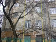 Помещения 20-й школы на повороте здания (поэтажно)