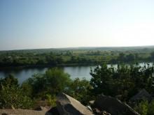 Панорама левого берега.