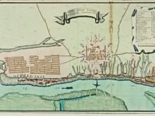 план крепости Св.Димитрия Ростовского А.М. Ригельмана 1768г