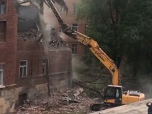Демонтаж здания 20-го Лицея 1