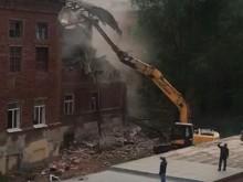 Демонтаж здания 20-го Лицея 2
