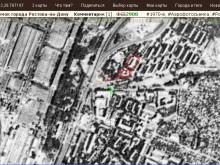 Вид со спутника (1971) части Сельмаша и 10-й горбольницы