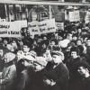 Митинг на одном из ростовских заводов осуждающий действия Китайских властей.